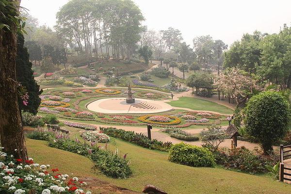 Mae Fah Luang garden, Travel to Chiang Rai