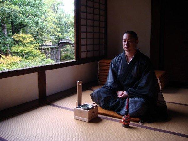 Zen Meditation, Dharma Talk, & Buddhist Wedding in Kyoto, Travel to Ukyo-ku
