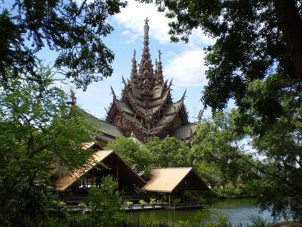 The santuary of truth, Travel to Chon Buri